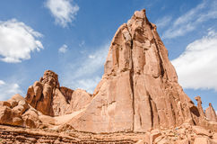 Arches Rock Formations Stock Image