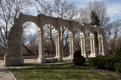 Arches on a romantic park Royalty Free Stock Images