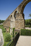 Arches of San Anton, Aqueduct of Caceres. Spain Royalty Free Stock Photos