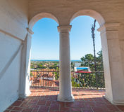 Arches in Santa Barbara Royalty Free Stock Image