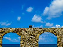Arches by the sea Royalty Free Stock Photos