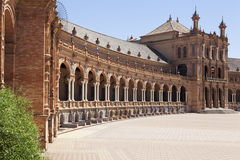 Arches in Spain Square Royalty Free Stock Image