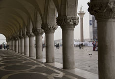 Arches in St Marks Square,Venice. Stock Images