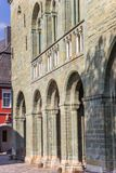 Arches of the St. Patrokli Dom in Soest stock photos