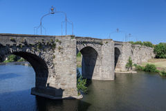 Old Bridge Carcassonne France Stock Images