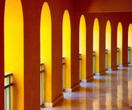 Arches at Strand Beach Hotel Taba Royalty Free Stock Photography