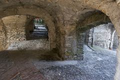 Arches in Triora Royalty Free Stock Images