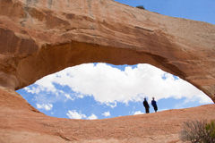 Arches. In Utah America Wilson Arche Royalty Free Stock Image