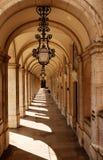 arches walkway Στοκ Φωτογραφίες