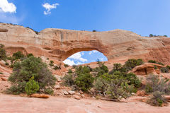 Arches Wilson. In Moab Utah America Stock Image