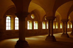 Arches and windows indoors Royalty Free Stock Photo
