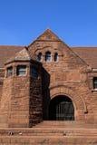 Archetucture: Romanesque αναγέννηση (που χτίζεται το 1890) Στοκ Εικόνα