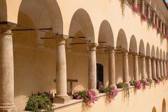 Archi al castello di Mokrice Immagine Stock