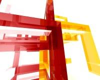 Archi astratto Structure005 Immagini Stock Libere da Diritti