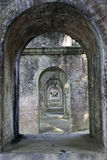 Archi del mattone, Kyoto Fotografia Stock