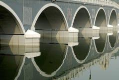 Archi del ponticello Fotografie Stock Libere da Diritti