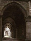 Archi dell'abbazia Immagine Stock