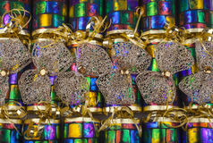 Archi dell'oro sui cracker tradizionali Fotografie Stock