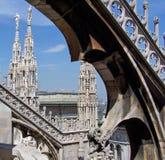 Archi della cattedrale Fotografie Stock