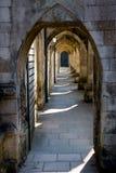 Archi della cattedrale di Winchester Fotografie Stock