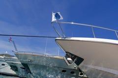 Archi delle barche Immagini Stock