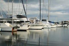 Archi delle barche Immagine Stock