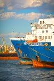 Archi delle navi Fotografie Stock Libere da Diritti