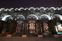 Archi di acciaio Fotografia Stock