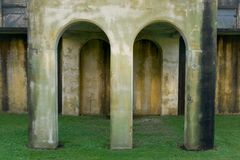 Archi, fortificazione Colombia Immagine Stock