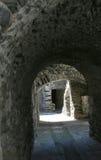 Archi medioevali in Francia Immagine Stock
