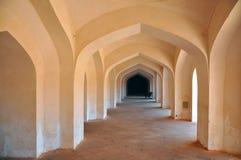 Archi nel palazzo di Jaipur Fotografia Stock Libera da Diritti