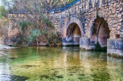 Archi nella centrale idroelettrica Fotografia Stock