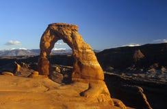 Archi NP, Utah Fotografia Stock