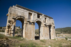 Archi romani a Patara, Turchia Fotografia Stock