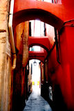 Archi rossi stockbilder
