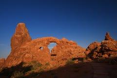 Archi rossi della roccia Immagine Stock