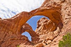 Archi sosta nazionale, Moab Utah fotografia stock libera da diritti