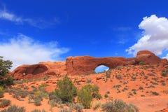 Archi sosta nazionale, Utah Fotografia Stock Libera da Diritti