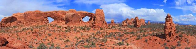 Archi sosta nazionale, Utah Immagini Stock