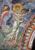 Archiangel Gabriel, Frescoe, Kurbinovo Στοκ Φωτογραφία