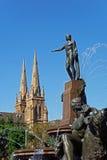 archibald πηγή Σύδνεϋ της Αυστραλί&alp Στοκ φωτογραφία με δικαίωμα ελεύθερης χρήσης