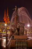 Archibald Fountain Fotografie Stock