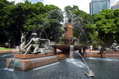 The Archibald Fountain in Hyde Park, New South Wales, Australia Stock Photo