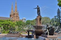 Archibald Fountain Stock Photos