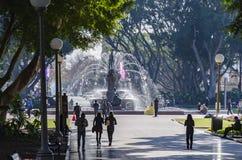 Archibald Fountain, Hyde Park, Sydney Fotografía de archivo
