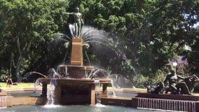 Archibald Fountain, Hyde Park, Sydney, Australië