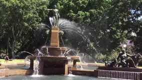 Archibald Fountain, Hyde Park, Sydney, Australia metrajes