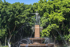 Archibald Fountain, J. F. Archibald Memorial Fountain in Hyde Pa Stock Image