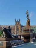 Archibald Fountain, Sydney, Australia Stock Images