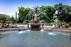 Archibald Fountain, Sydney, Australia Royalty Free Stock Images